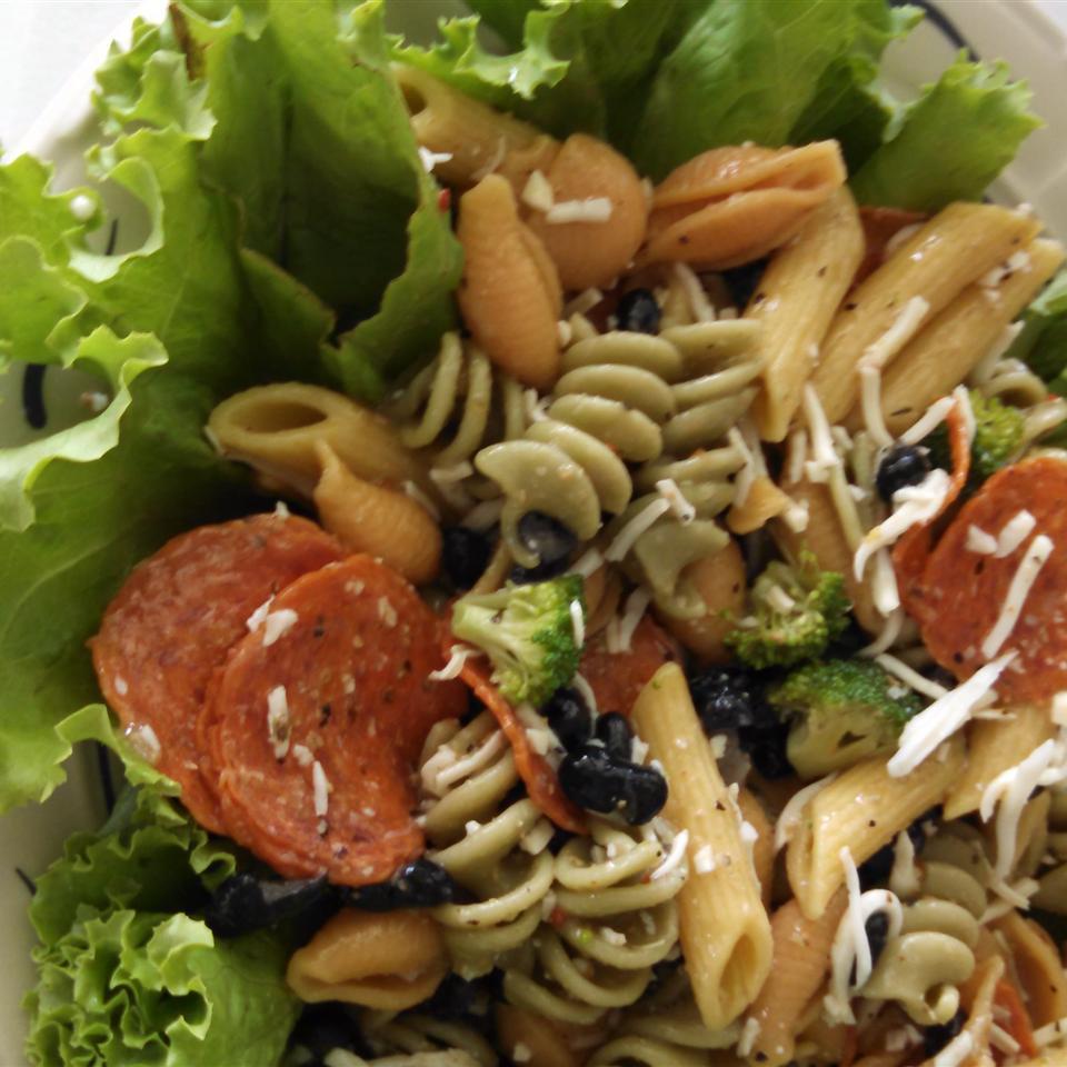 Rainbow Pasta Salad I Norma Perkins