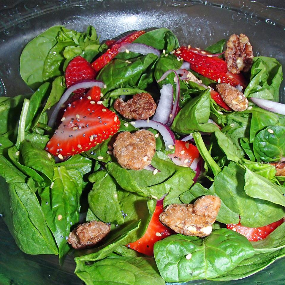Strawberry Spinach Salad II Janet Henderson