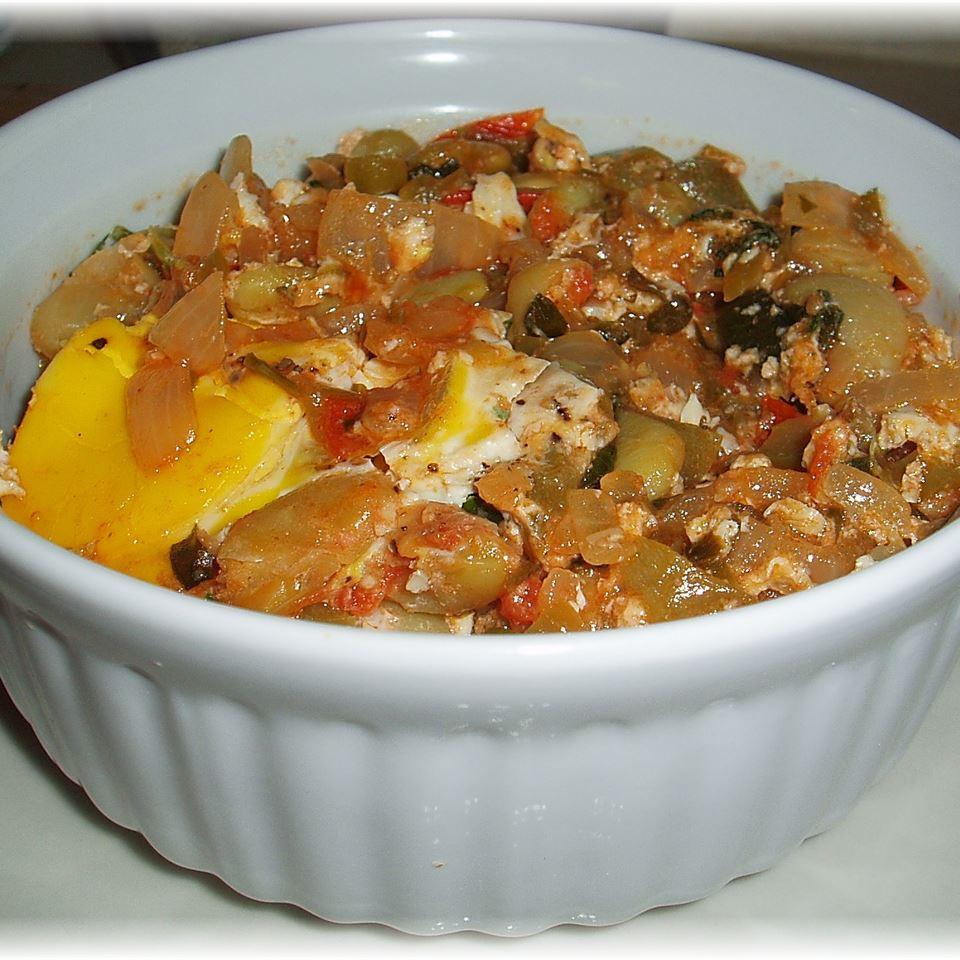 Veggie-Bean Brunch Casserole Sally Stall