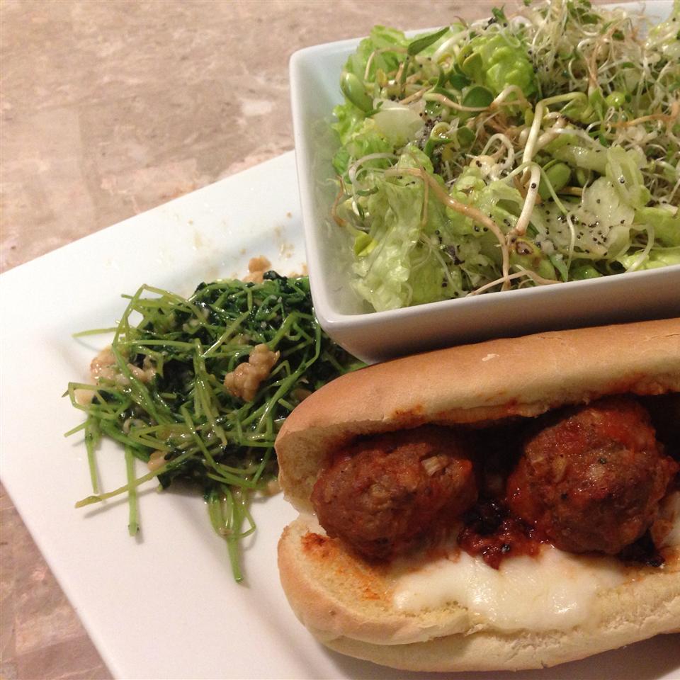 Hearty Meatball Sandwich Josephine Roeper