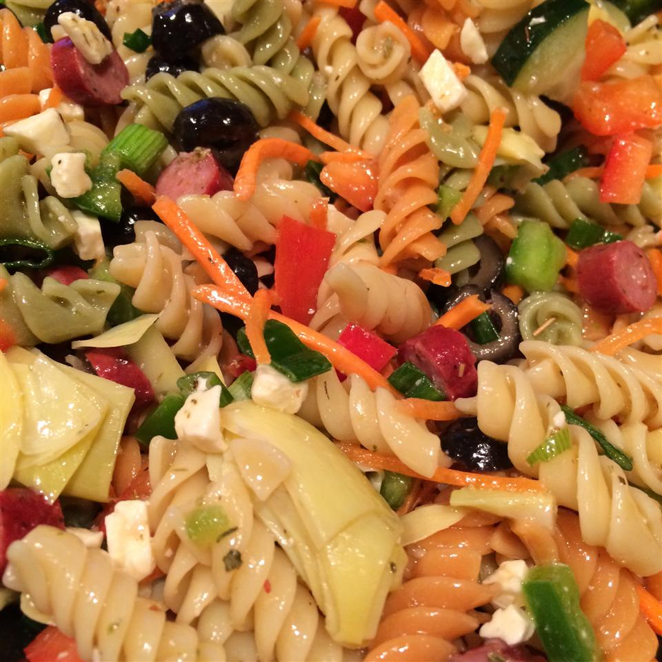 Greek Pasta Salad Maggie P.