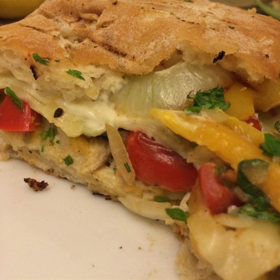Amazing Southwest Cilantro Lime Mango Grilled Chicken Sandwiches iyad
