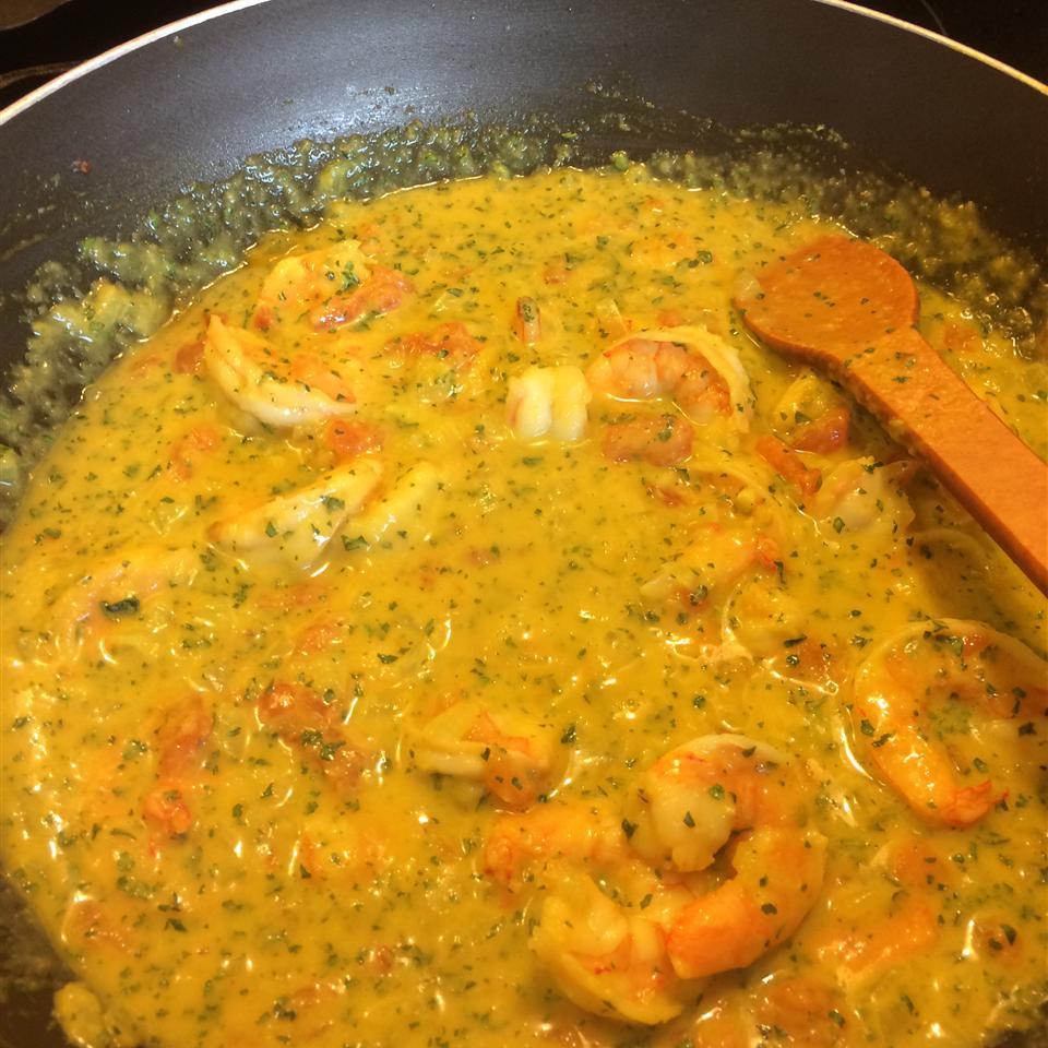 Thai Style Shrimp panathenia