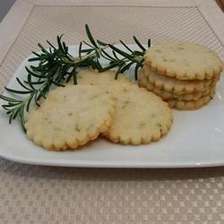 Rosemary Shortbread Cookies Mallinda