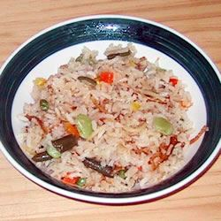 Onion Rice Pilaf LucyDelRey