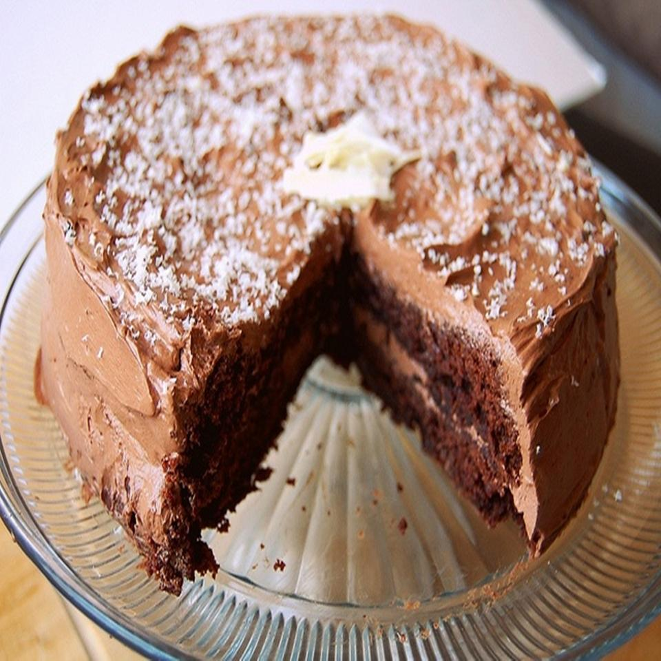 Granny's Mahogany Cake and Frosting