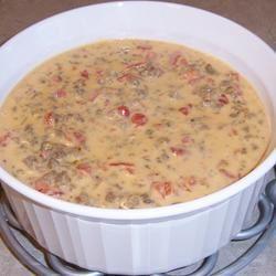 Sausage con Queso Dip Kristin Cather