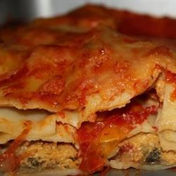 Vegetarian Four Cheese Lasagna belle