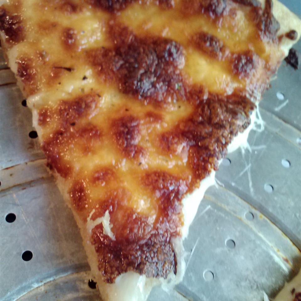 White Pizza a la Chick Lit jillytuile