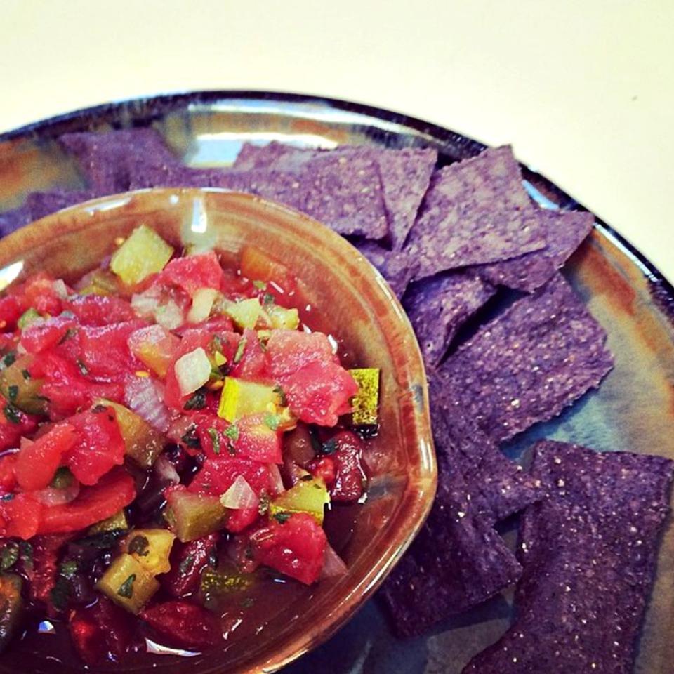 Dill Pickle Salsa lovestohost