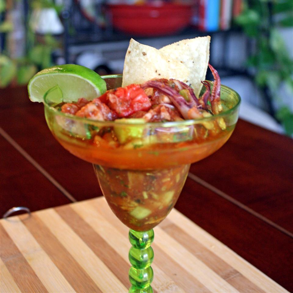 Juicy and Spicy Ceviche Janet Henderson