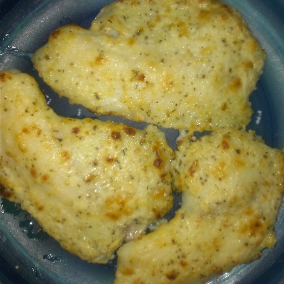 Healthier Broiled Tilapia Parmesan StickySue