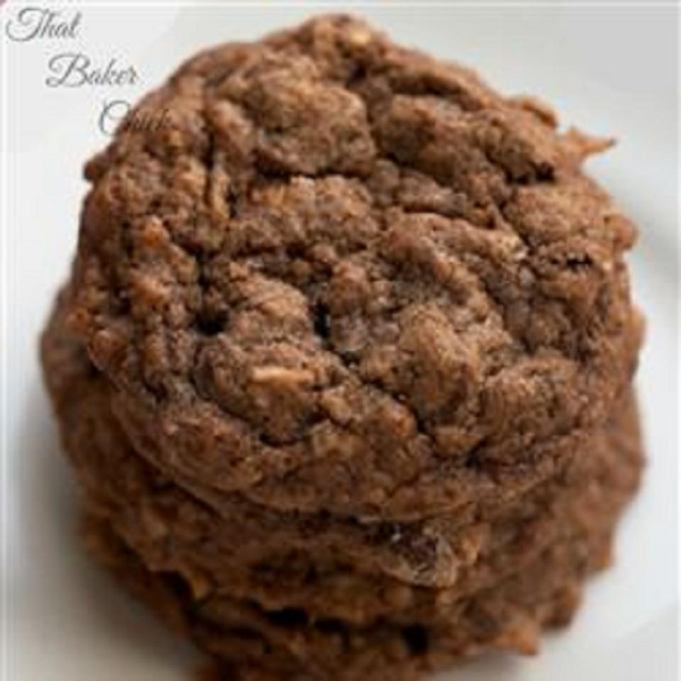 Easy German Chocolate Cake Cookies ThatBakerChick