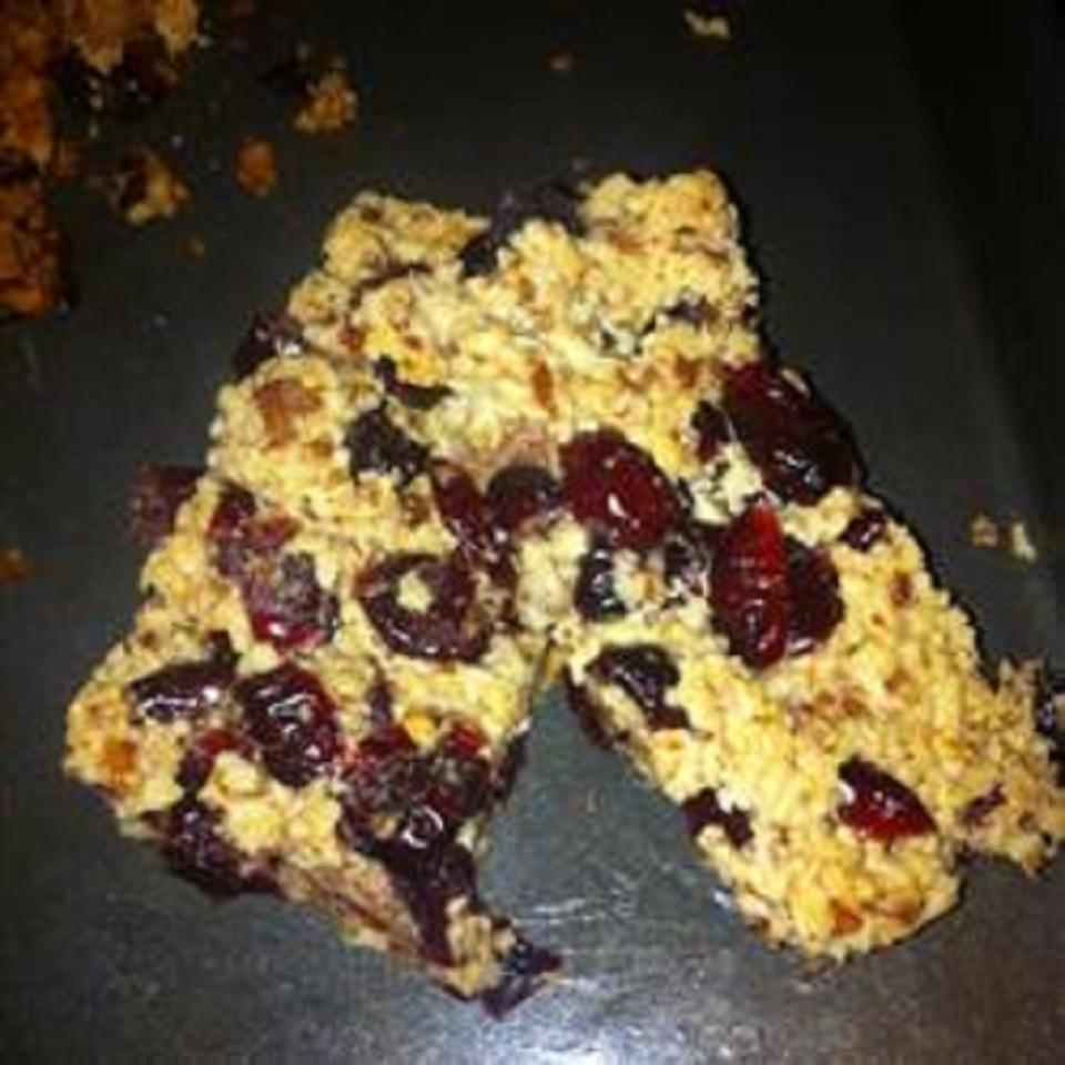 Gluten-Free Fruit and Nut Bars Shanna
