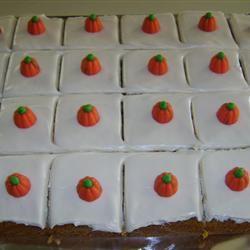 Pumpkin Bars I RYGUY