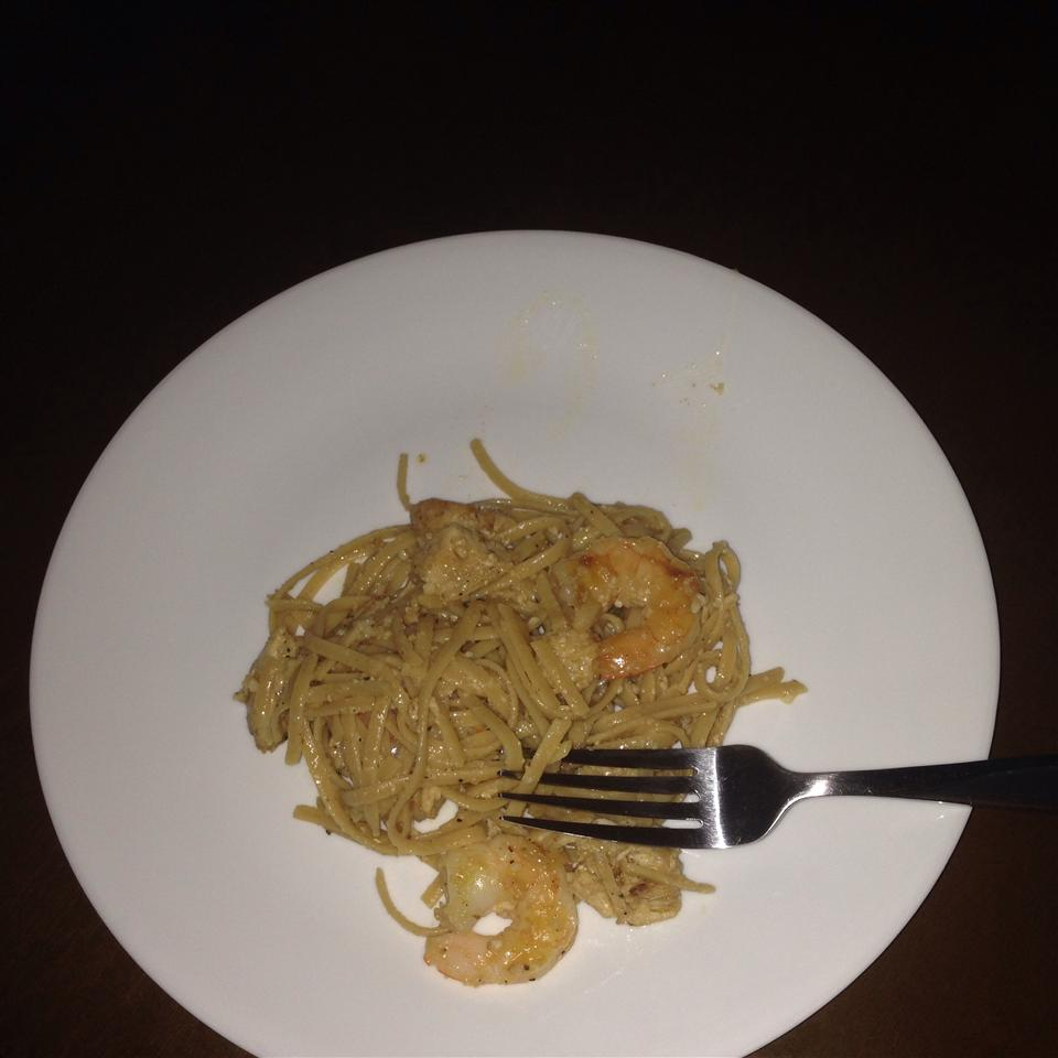 Garlic Shrimp Pasta