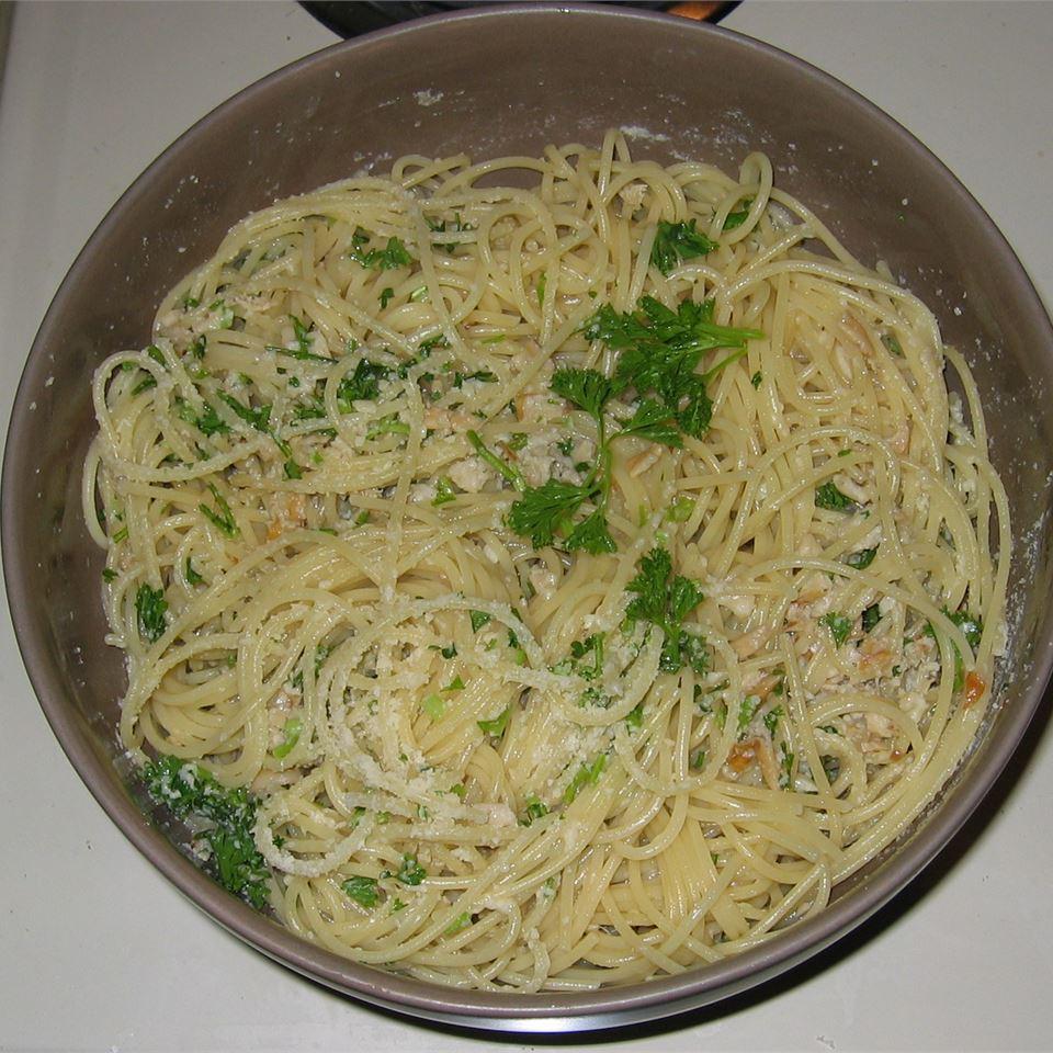 Quick Clam Spaghetti NMChef1