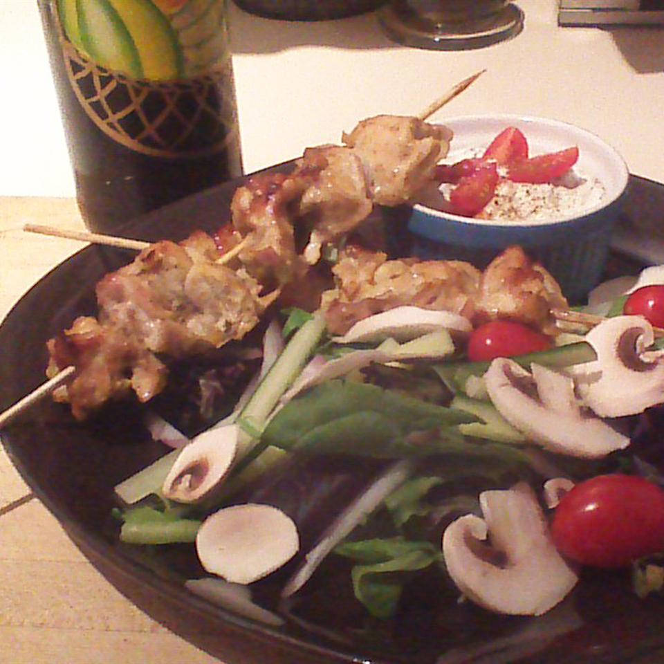 Tandoori Chicken Skewers cynthia