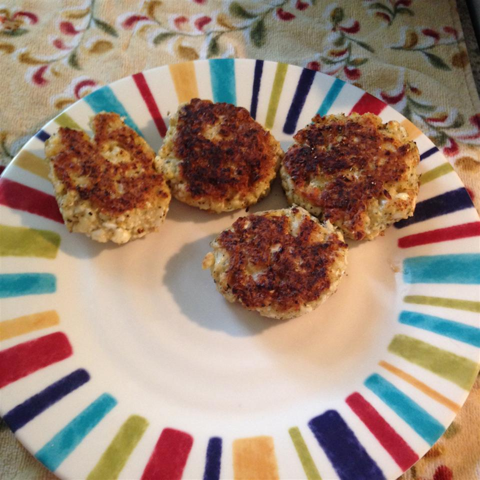 Cauliflower Fritters Michelle Studer