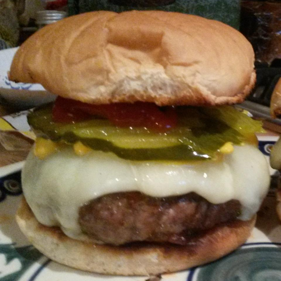 Bacon Cheeseburgers with Steak Sauce