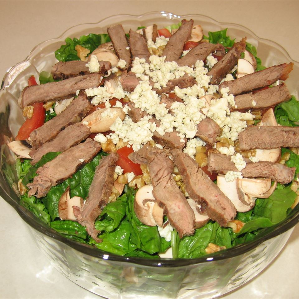 Steak Salad (Ranen Salad) Kristie