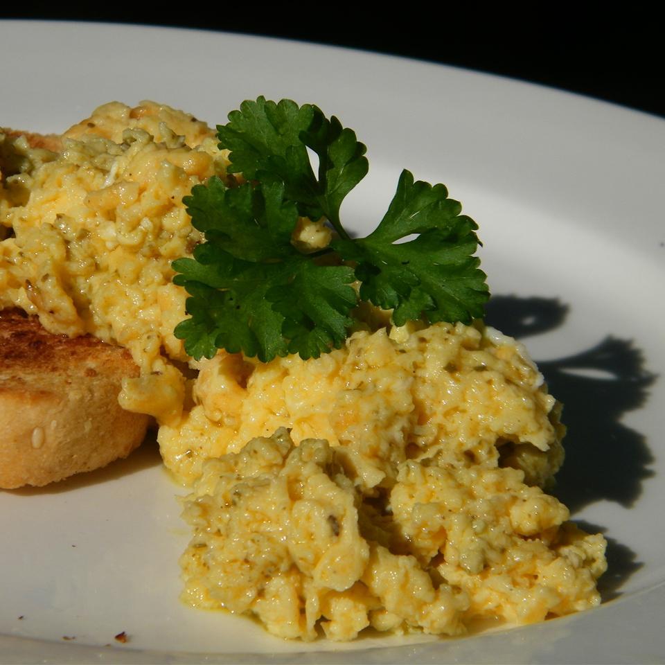 Pesto Scrambled Eggs Seattle2Sydney