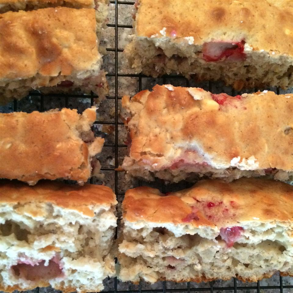 Banana Strawberry Oat Bread lizlefrancois