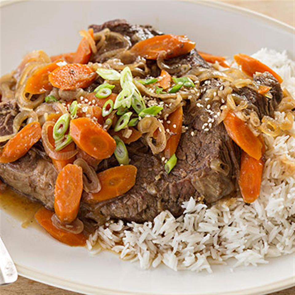 Asian-Style Pot Roast Trusted Brands