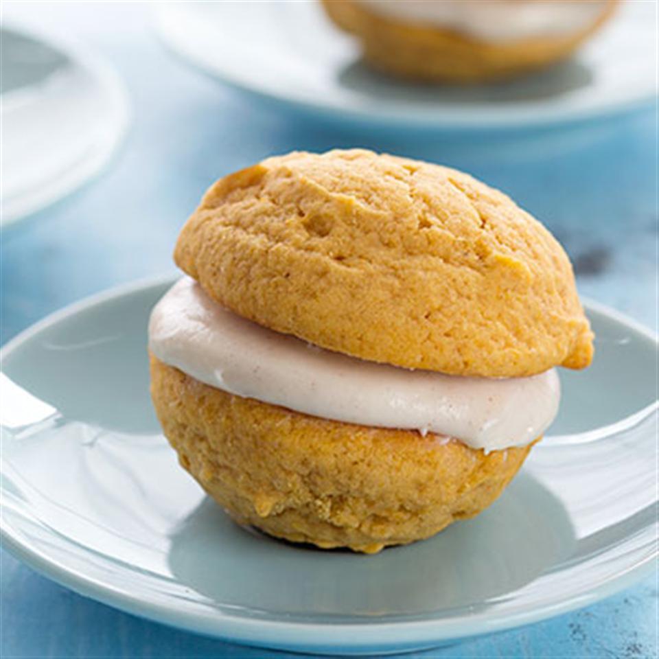 Fall Pumpkin Sandwich Cookies Trusted Brands