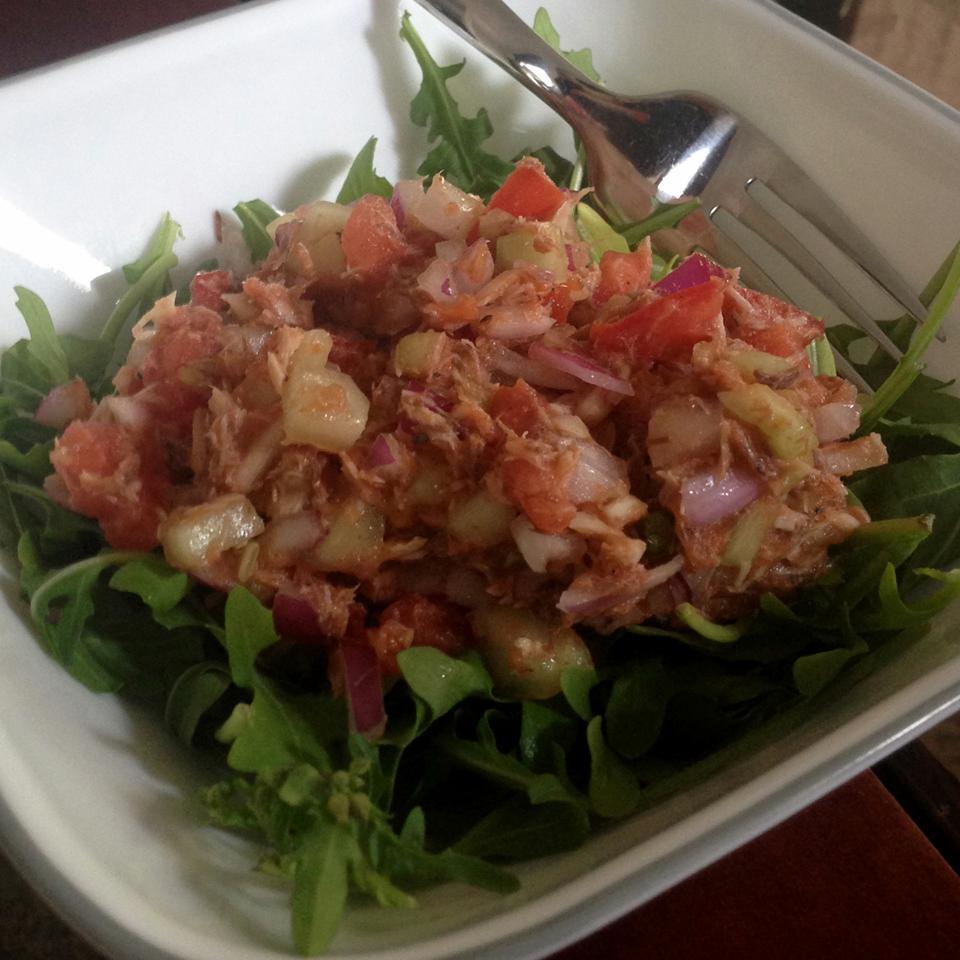 Tomato Mackerel Salad Whitney