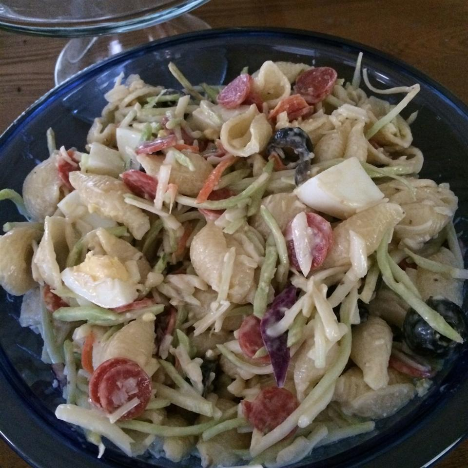 Pepperoni Caesar Pasta Salad AmyN