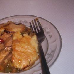Chicken Honey Mustard Pie Dragon