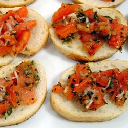 Ali's Amazing Bruschetta sarahiswright