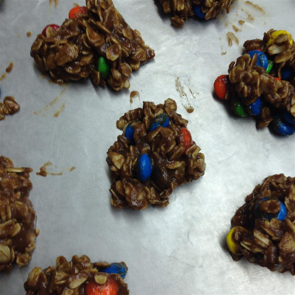 Peanut Butter Cocoa No-Bake Cookies