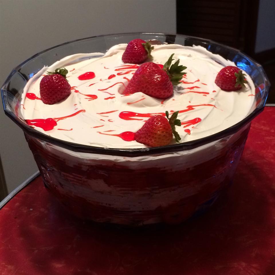 Strawberry Angel Food Dessert