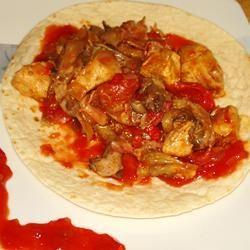 Chicken and Bacon Fajitas Gracey