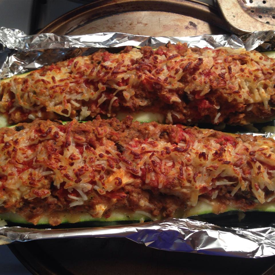 Easy Stuffed Zucchini MeganDoc