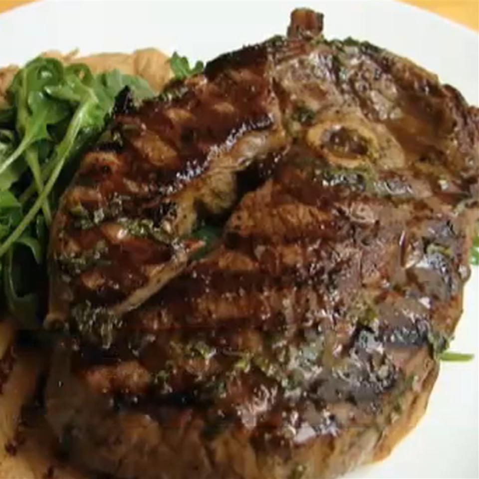 Chef John's Grilled Lamb Steaks