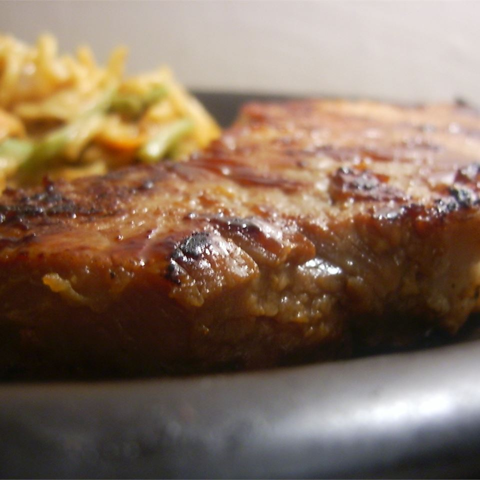 Rib Eye Steaks with a Soy and Ginger Marinade SunFlower