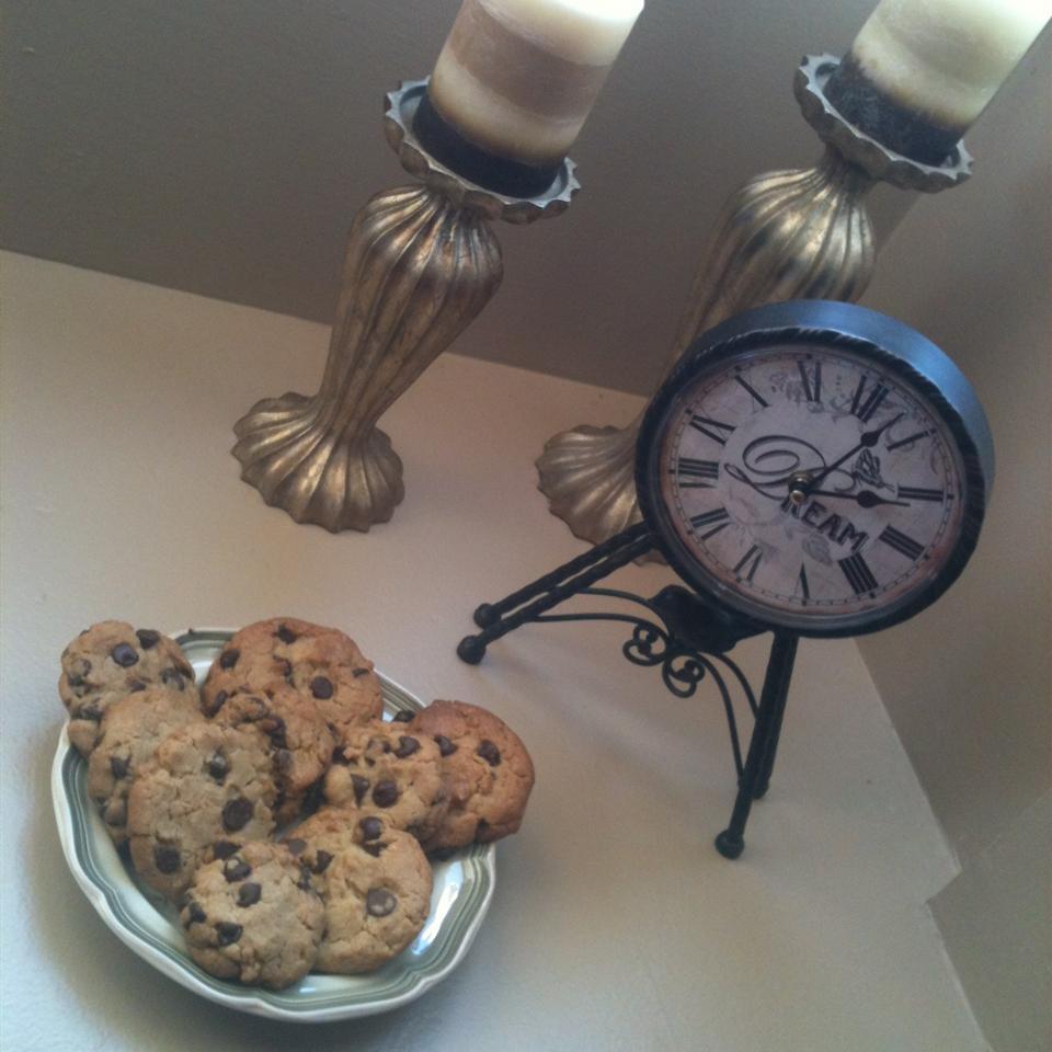 Toffee Chocolate Chip Cookies DesertGrammykat