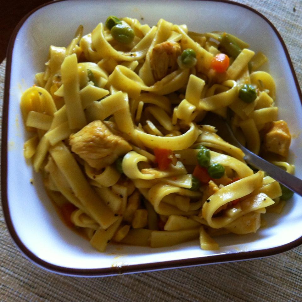 Quick Chicken and Noodles Zarana Gandhi