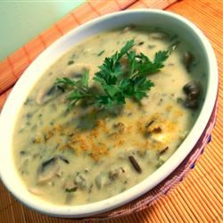 Curried Wild Rice Soup SunnyByrd
