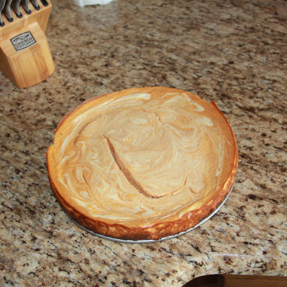 PHILADELPHIA Pumpkin Swirl Cheesecake Mackenzie