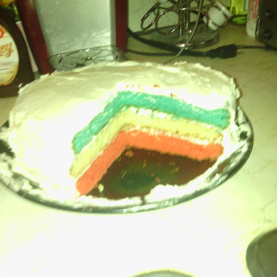 Surprise Inside Independence Cake Nicole Brabazon