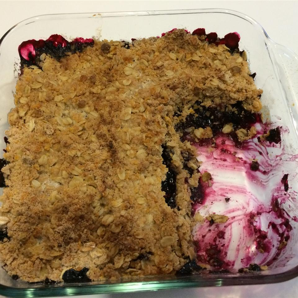 Crumbly Blackberry Cobbler Old Jackie