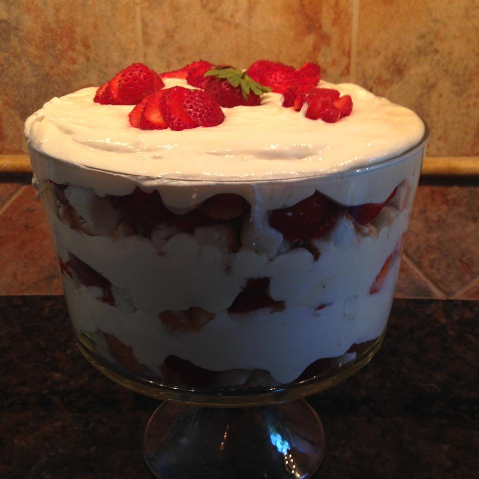 Strawberries and Cream Trifle Terri Frank Ramseyer