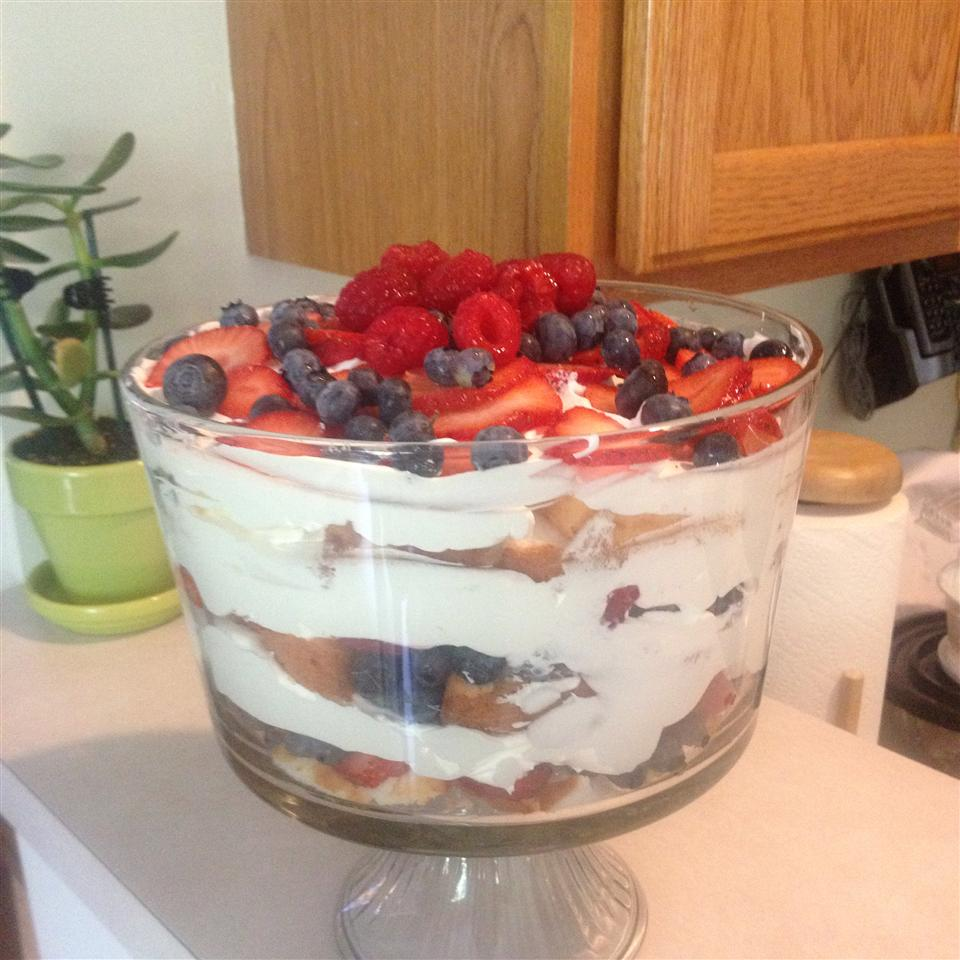 Angel Fruit Trifle Baili Camino Hernandez