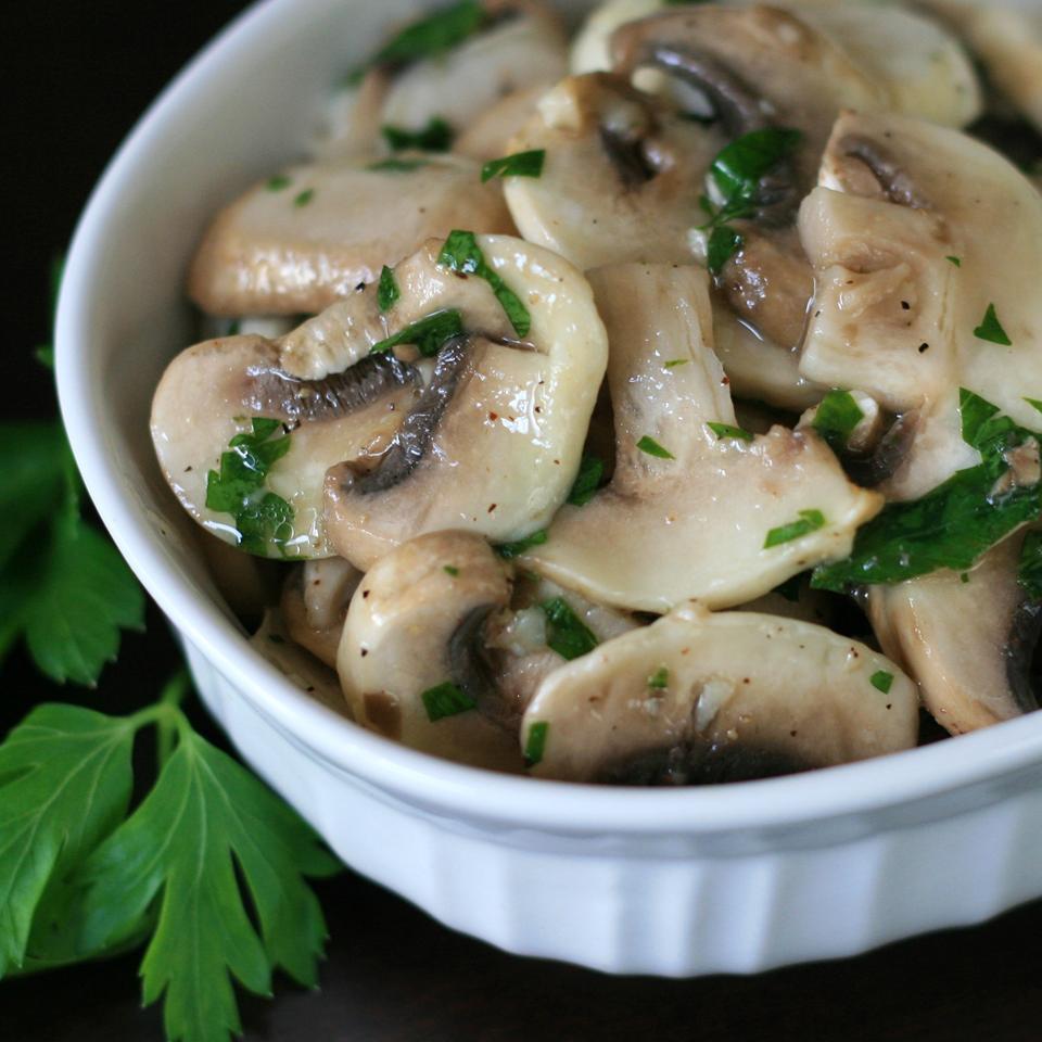 Vegan Mushroom Salad