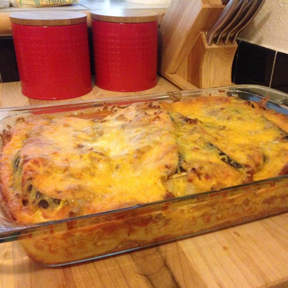 Eggplant and Ground Beef Lasagna jaaberg