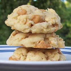 Crispy Butterscotch Cookies pomplemousse